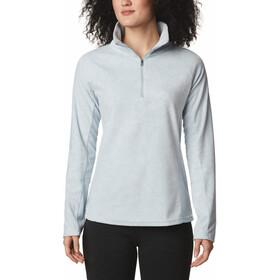 Columbia Glacial IV Print Pullover 1/2 Cremallera Mujer, gris